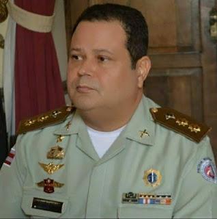 Tenente-coronel Jarbas Carvalho deixa comando do 4º Batalhão de Polícia Militar, em Alagoinhas