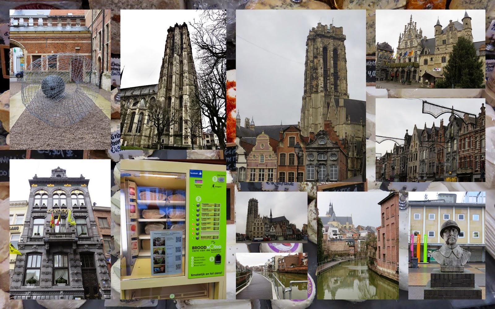 Hop off the train in Mechelen, Belgium