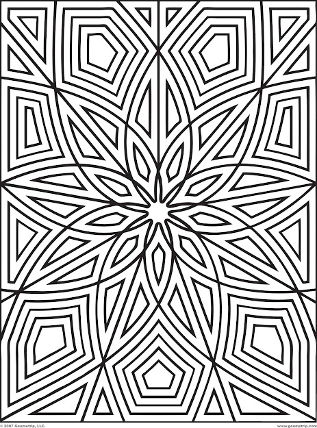 Get The Latest Free Pattern Coloring Pages Images Favorite Coloring Pages  To Print Online Geometric Coloring Pages Adults