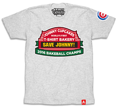 Chicago Cubs World Series Champions T-Shirt Collection by Johnny Cupcakes - Bakeball Champs