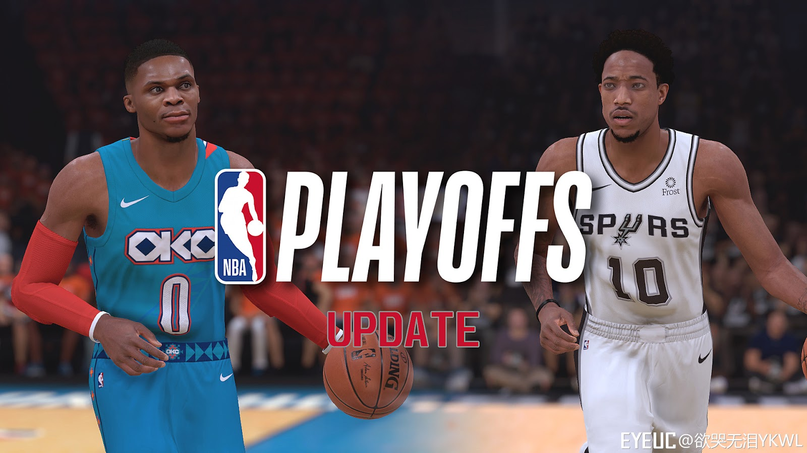 96145edff61d NBA 2K19 - Realism Courts   Arenas Playoffs Update v3 (Thunder and ...