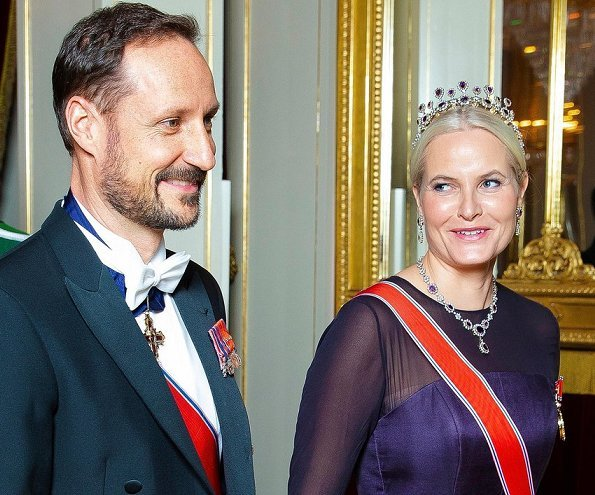 The Royal Court of Norway announced that Crown Princess Mette-Marit has been diagnosed with a chronic lung disease