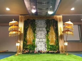 Dekorasi Pernikahan Jawa Sederhana