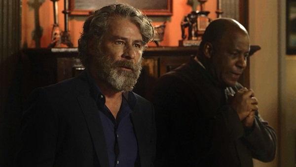 Feliciano Pataxó quer saber quem está na mira do assassino (Imagem: Reprodução/TV Globo)