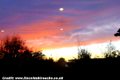 Mysterious Lights Spotted Over Lincolnshire 9-14-15
