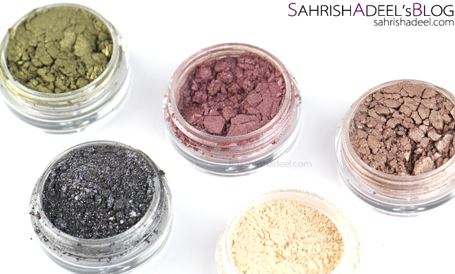 Makeup Geek Pigments - Review & Swatches