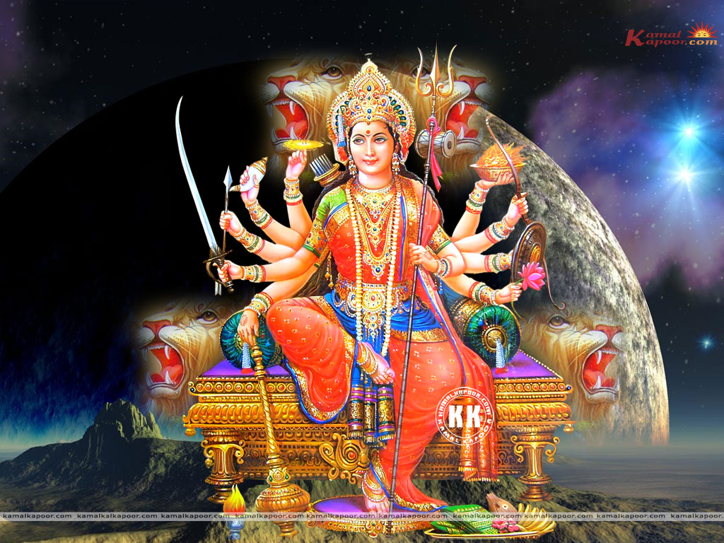 Maa Durga Wallpaper 3d Bhagwan Ji Help Me Devi Mata Wallpapers