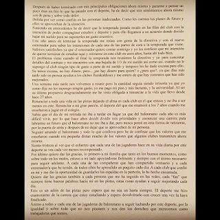 Carta de Ana Temprano