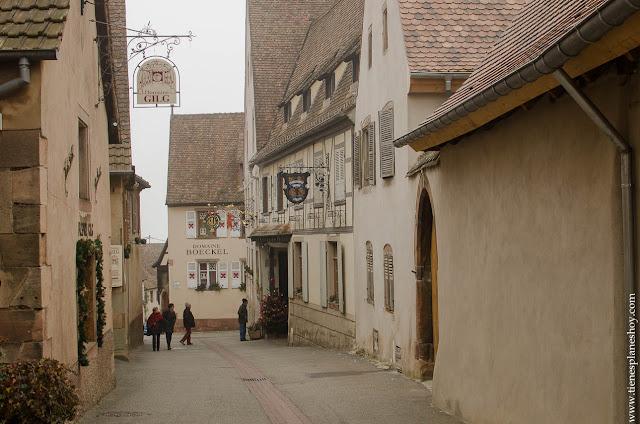 Mittelbergheim pueblos vino Alsacia