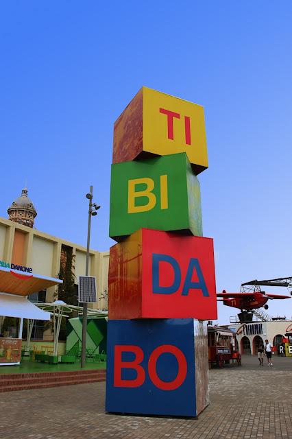 tibidabo amusement park barcelona