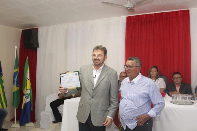 Ex-governador Wilson Martins recebe título de cidadania em Francisco Macedo