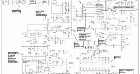 Schematic Umum Power Supply ATX Computer