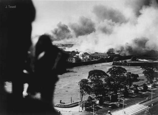 Manila burning, 27 December 1941 (worldwartwo.filminspector.com