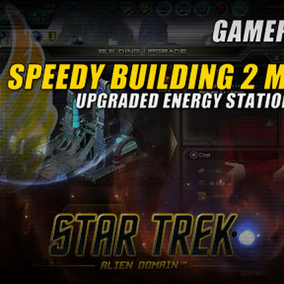 Speedy Building 2 Mission ★ Upgraded Energy Station To Level 5 ★ Star Trek Alien Domain