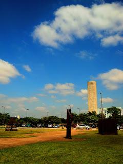 Relógio do Sol, na Cidade Universitária da USP
