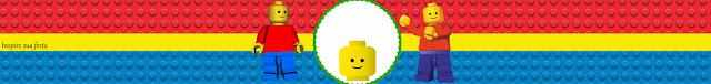 Etiquetas para Imprimir Gratis de Fiesta de Fiesta de Lego.