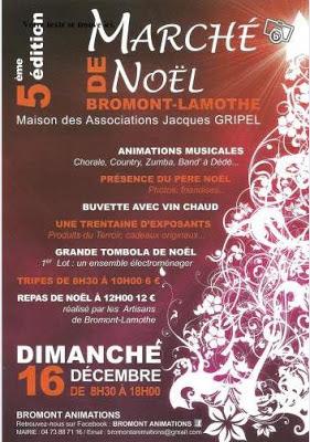 Marché de Noël 2012, Bromont Lamothe