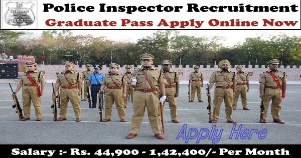 GPSC Police Inspector Recruitment