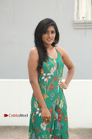Actress Eesha Latest Pos in Green Floral Jumpsuit at Darshakudu Movie Teaser Launch .COM 0007.JPG