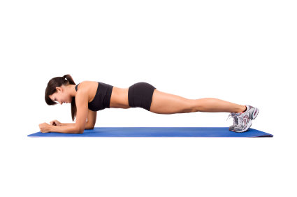 Home Workout Routines Front Plank
