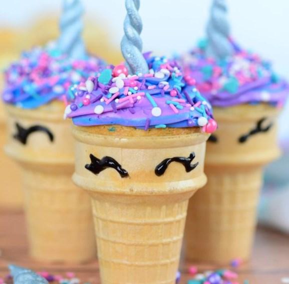Unicorn Cupcakes #dessert #cake