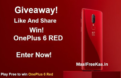 OnePlus 6 Red Free