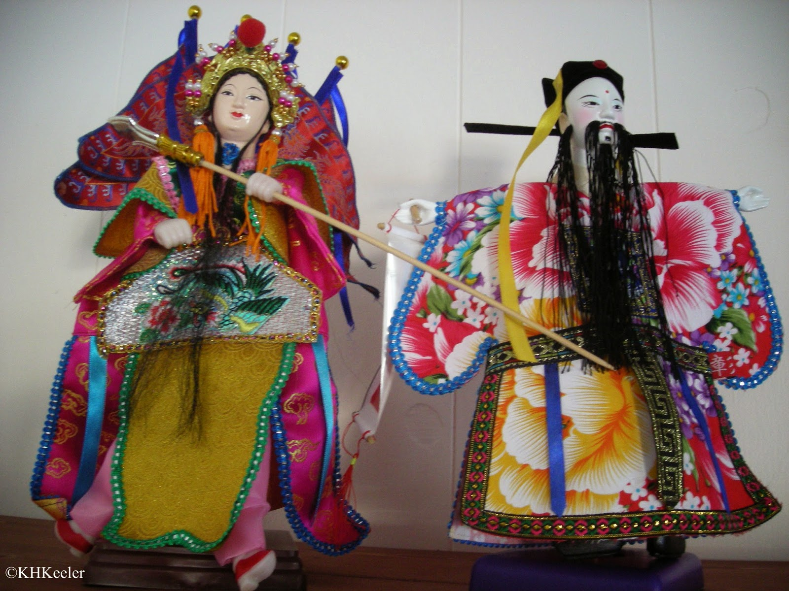 puppets from Taiwan