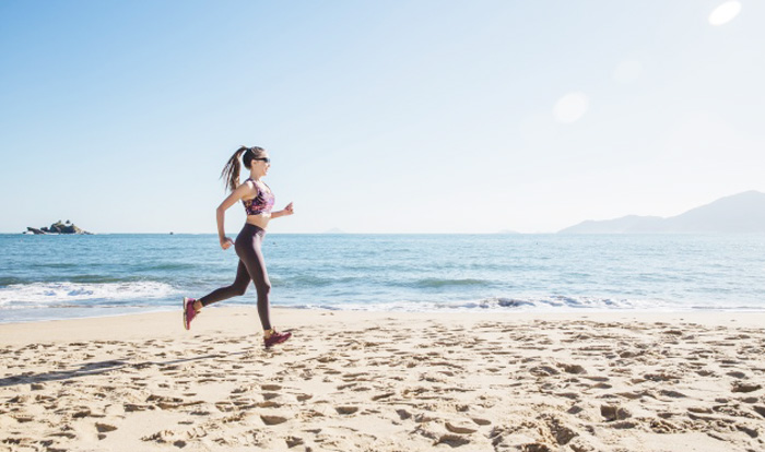 How To Maintain Good Health - Woman Running on the beach