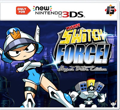 Mighty Switch Force! CIA 3DS EUR