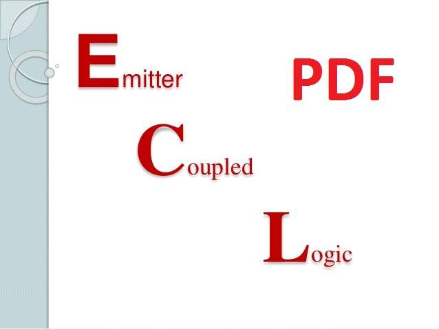 free Download emitter coupled logic pdf
