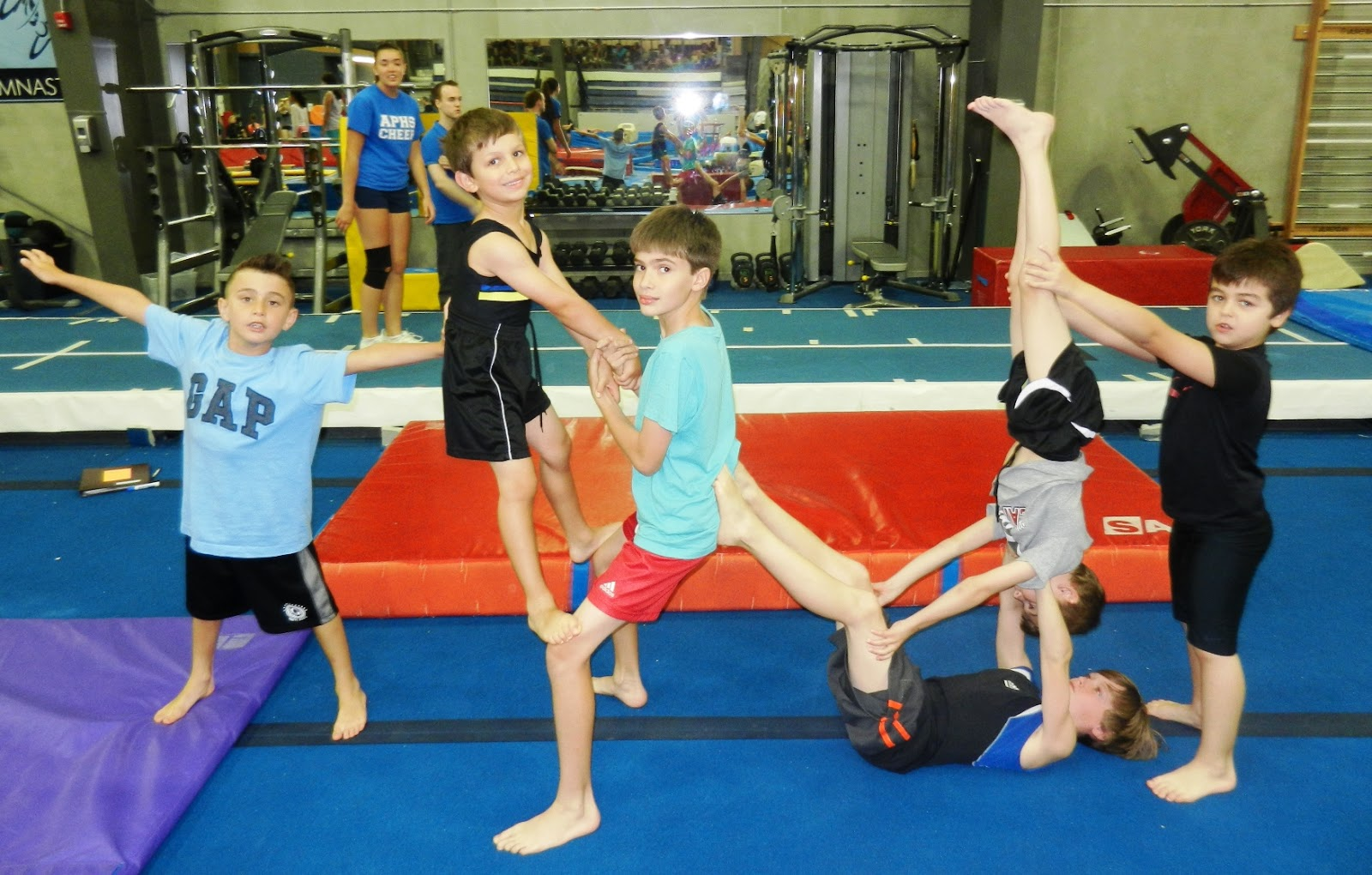 Oakville Gymnastics Club Acrobatic Gymnastics Team July 2013