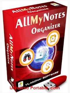 AllMyNotes Organizer v2.84 Portable