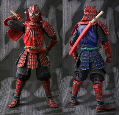 Samurai Spider-Man Marvel Meisho Manga Realization Action Figure