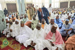 Photos from the wedding Fatiha of Mairama Indimi and Mustafa Masango in Maiduguri