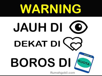 Kumpulan Gambar  Stiker  Warning Dengan Kata Kata Paling