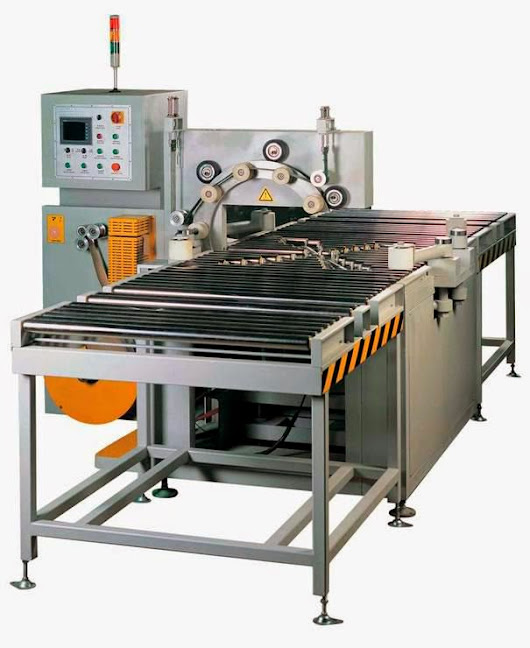 Horizontal coil packaging line for steel coil,copper strip
