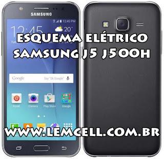 Esquema Elétrico Celular Smartphone Samsung Galaxy J5 SM J500H Manual de Serviço  Service Manual schematic Diagram Cell Phone Smartphone Samsung Galaxy J5 SM J500H