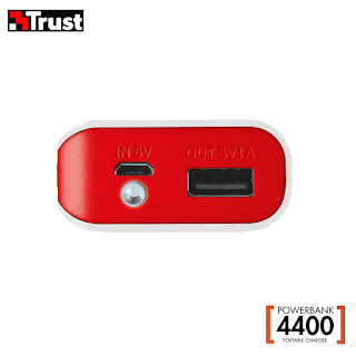 trust powerbank 4400 mah 19856