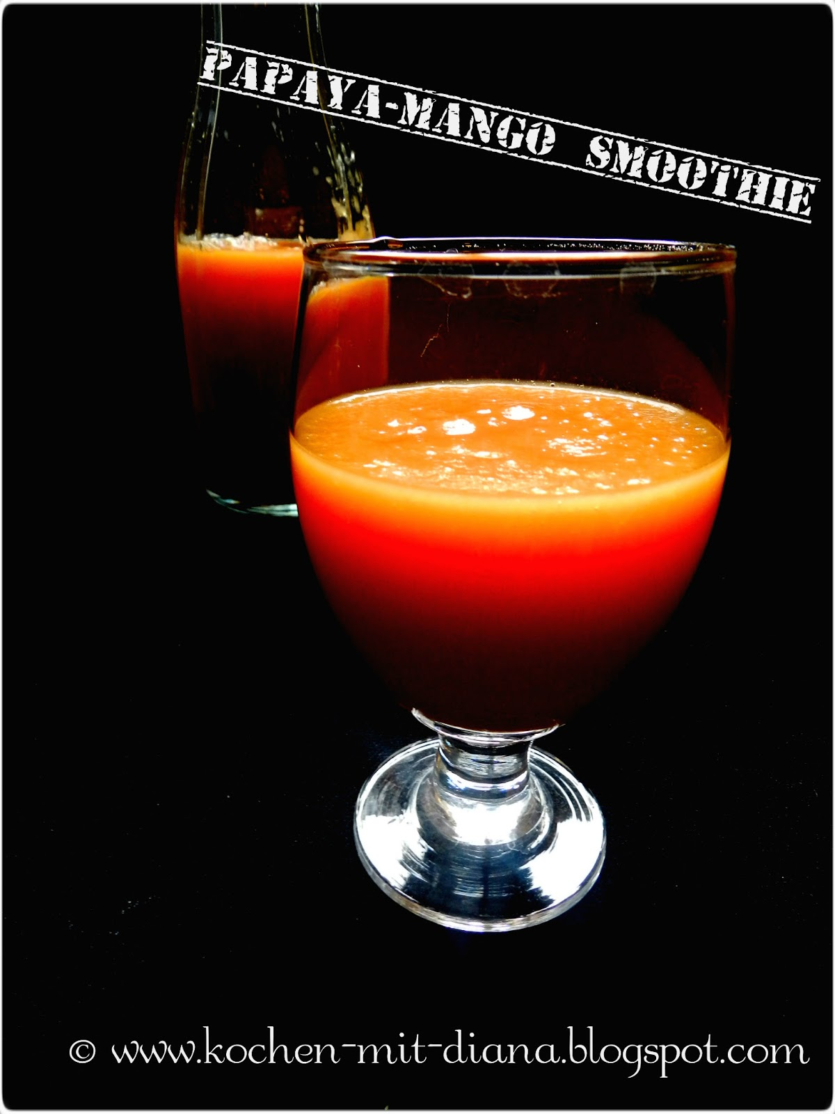 Papaya-Mango-Smoothie