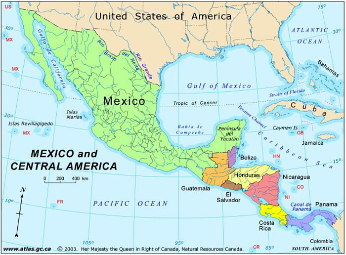 the causes of the growth of the american presence in mexico The economic and social consequences of illegal immigration across the 1,940 mile long america-mexico an estimated 1,880,000 american it is the presence.