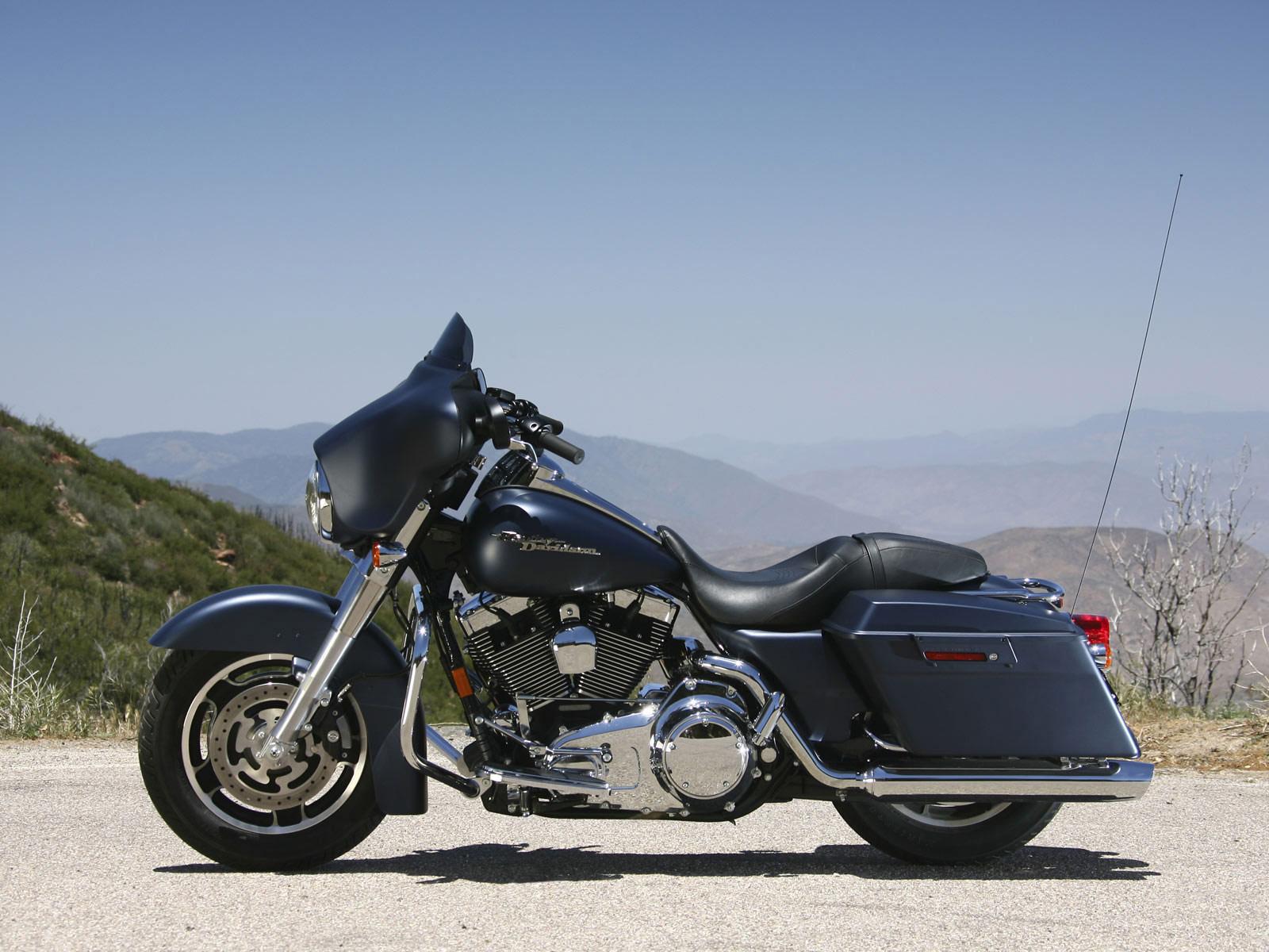 Harley Davidson 2008: 2008 Harley-Davidson FLHX Street Glide Pictures