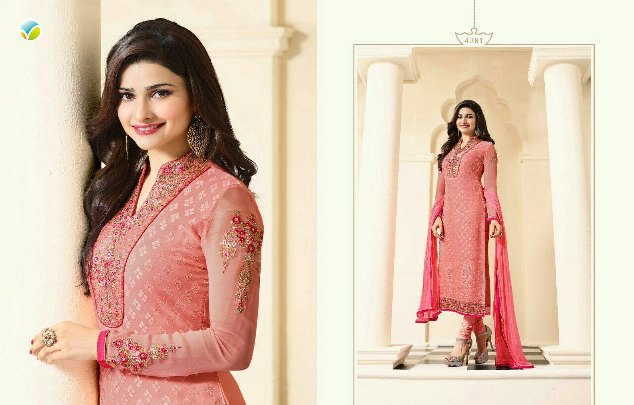Magical Brasso 7 – Prachi Desai Unstitched Salwar Suit Wholesale