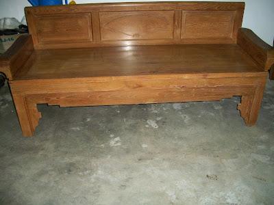 Collectible Items Sofa Kayu Jati Lama Katil Siang