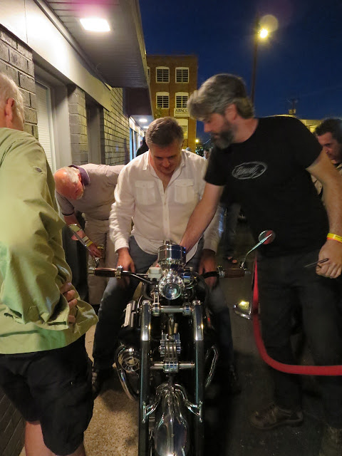 Miguel Galuzzi and JT Nesbitt discuss the Bienville Legacy Motorcycle