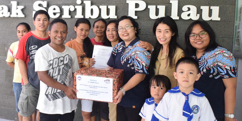 Aplikasikan VBS Mission dan Natal 2018, KB-TK KK Adakan Baksos