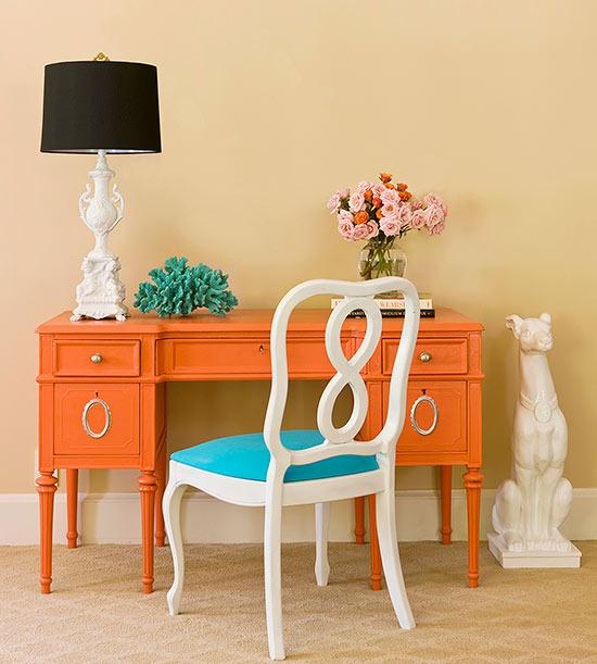12 muebles antiguos pintados antes y despu s mi casa for Restaurar muebles viejos antes y despues