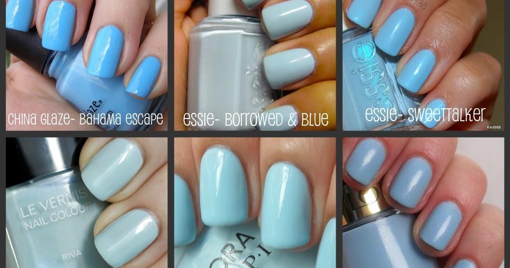 Favorites Light Blue Nail Polish The Big Brown Eyes