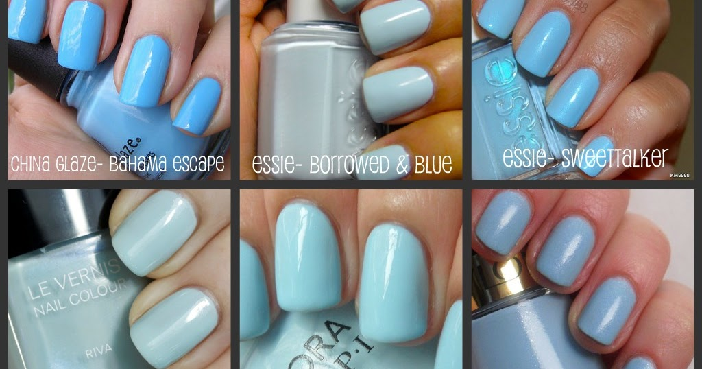 Favorites Light Blue Nail Polish The Big Brown Eyes