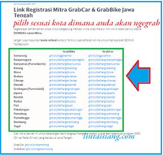 Cara Daftar Grab Pemalang 2018 Terbaru Provinsi Jawa Tengah