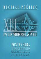 Resultado de imagen de XIII-ENCUENTRO POETAS EN RED-PONTEVEDRA
